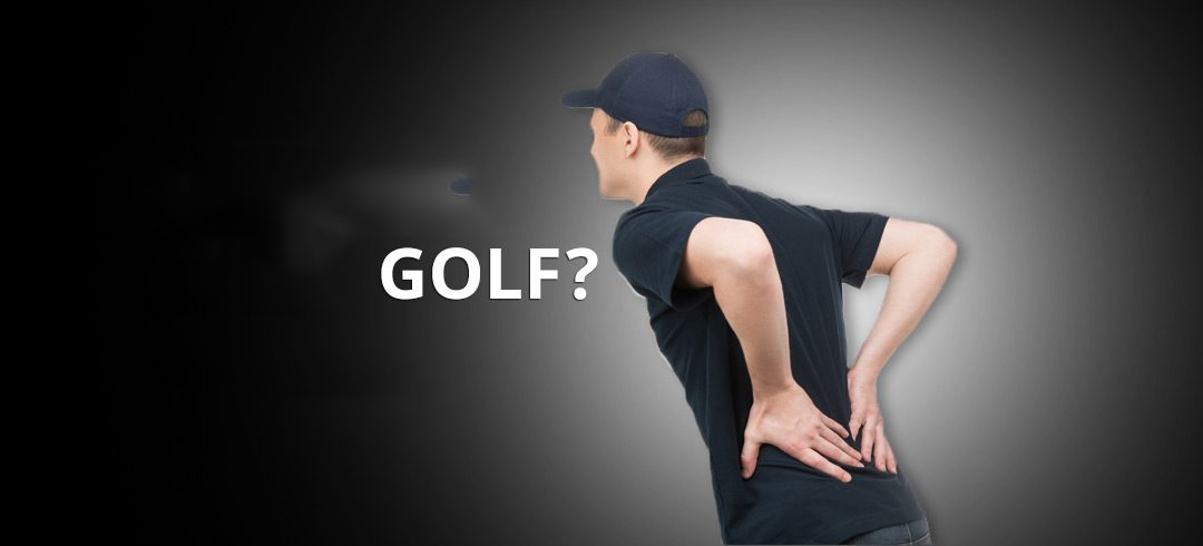 Are you prone to golfing injuries?
