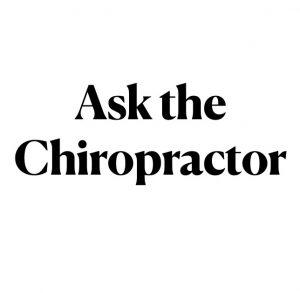 ask the chiropractor - wellness speaker