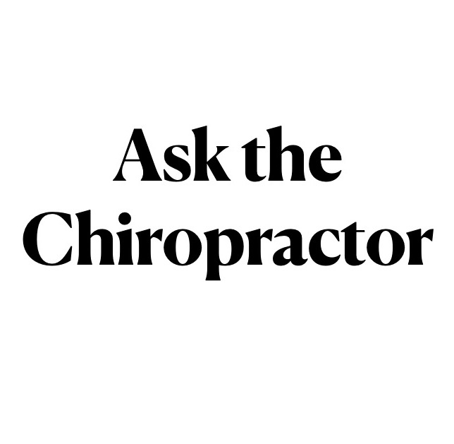 Ask the Chiropractor – what is that sound during an adjustment?